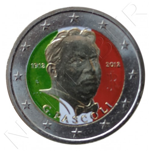 2€ ITALIA 2012 - Giovanni Pascoli (COLOR)
