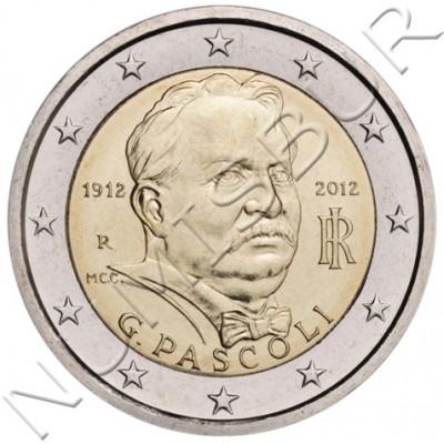 2€ ITALIA 2012 - Giovanni Pascoli