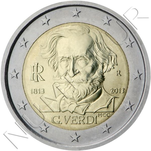 2€ ITALIA 2013 - Giuseppe Verdi