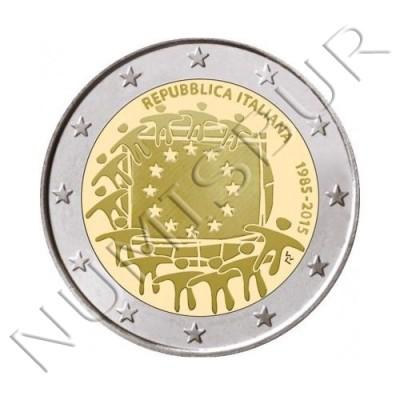 2€ ITALIA 2015 - XXX aniv. de la bandera Europa