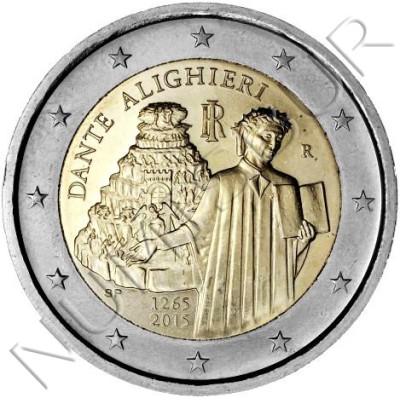 2€ ITALIA 2015 - Dante Alighieri