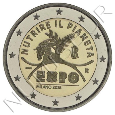 2€ ITALY  2015 - Nourish the planet