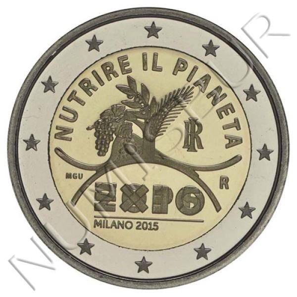 2€ ITALIA 2015 - Nutrir el planeta