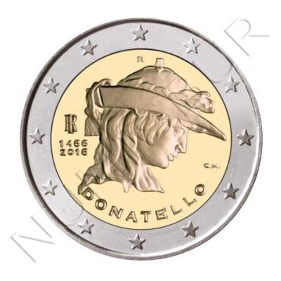 2€ ITALIA 2016 - Donatello