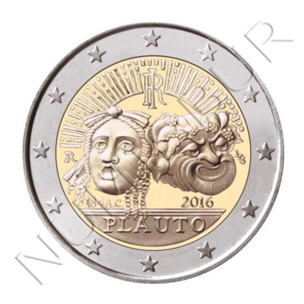 2€ ITALIA 2016 - Plauto