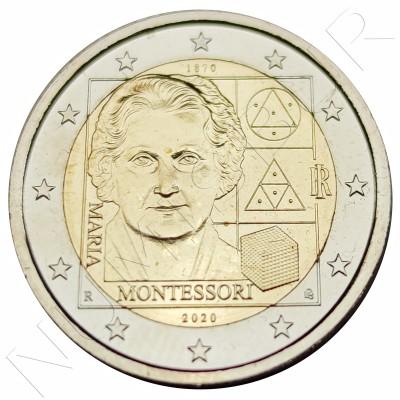 2€ ITALY 2020 - Maria Montesori