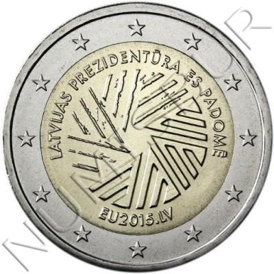 2€ LATVIA 2015 - European Presidency