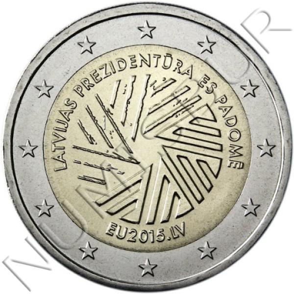 2€ LETONIA 2015 - Presidencia Europea