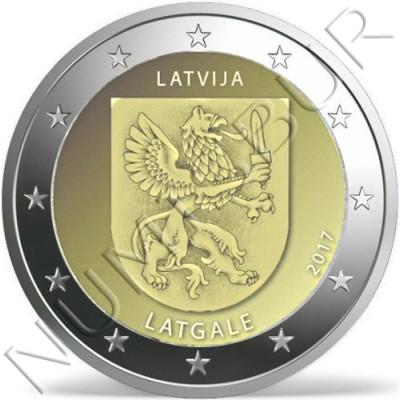 2€ LATVIA 2017 - Latgale region