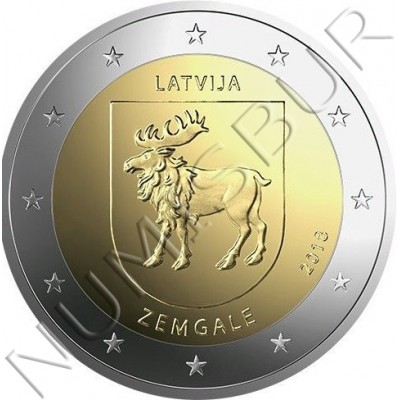 2€ LATVIA 2018 - Zemgale Region