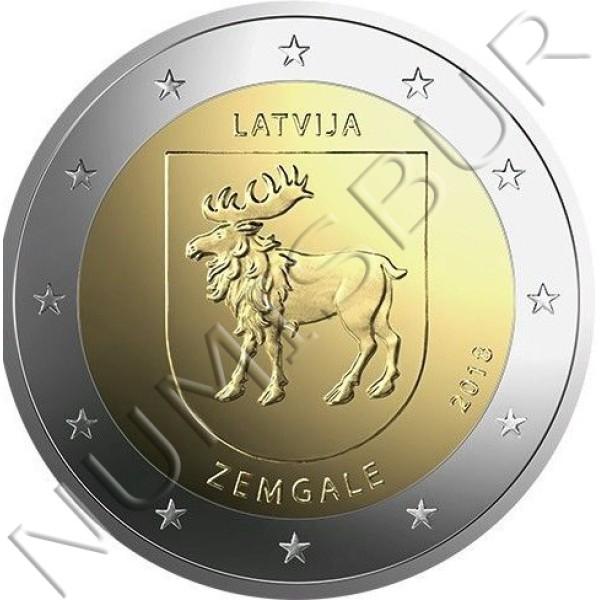 2€ LETONIA 2018 - Region Zemgale