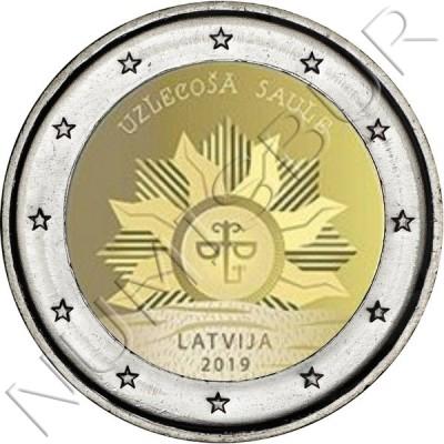 2€ LATVIA 2019 - The rising sun