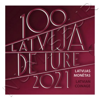Euroset LETONIA 2021 - Latvia de iure 100