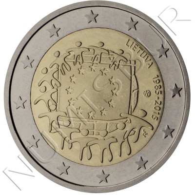 2€ LITHUANIA 2015 - XXX aniversary of European FLAG
