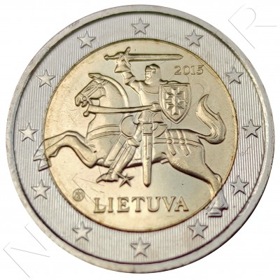 2€ LITHUANIA 2015 - Circulated