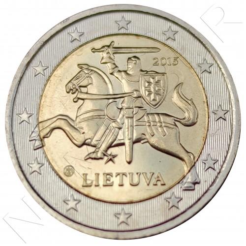 2€ LITHUANIA 2015 - Circulated