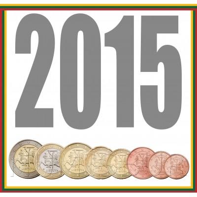 Tira LITHUANIA 2015 - 8 coins