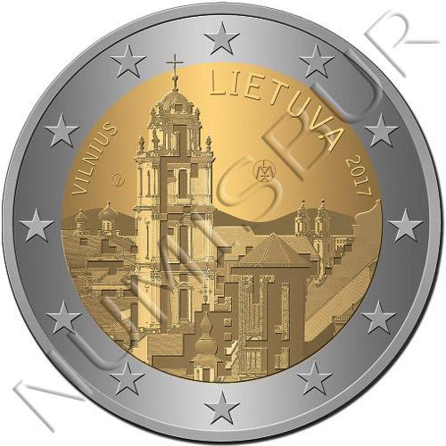 2€ LITUANIA 2017 - Vilna