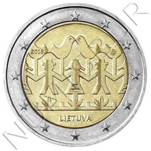 2€ LITUANIA 2018 - Festival de la cancion y la danza
