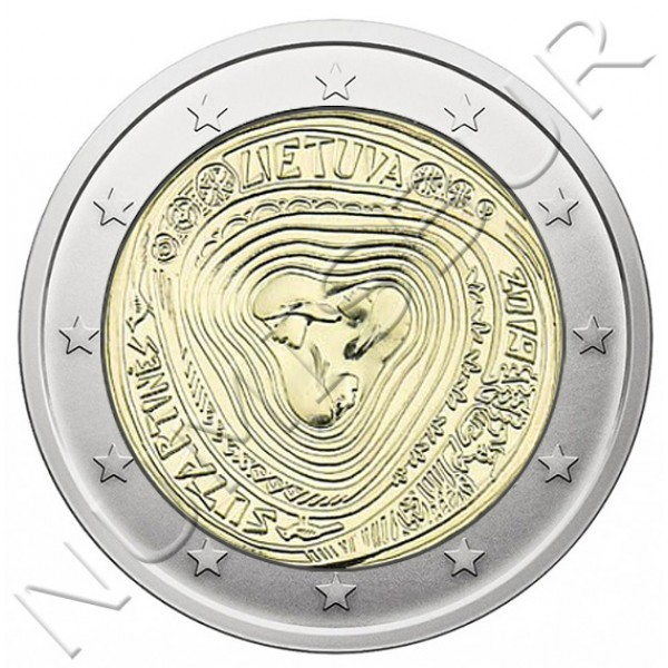 2€ LITHUANIA 2019 - Sutartin songs