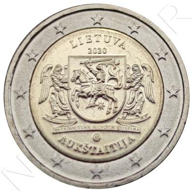 2€ LITHUANIA 2020 - Region of Aukstaitija
