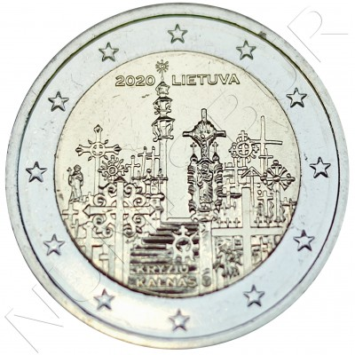 2€ LITHUANIA 2020 - Hill of Crosses
