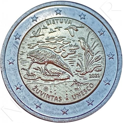 2€ LITHUANIA 2021 - Žuvintas Biosphere Reserve