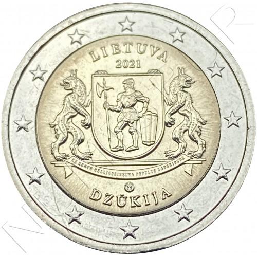 2€ LITHUANIA 2021 - Region of Dzūkija