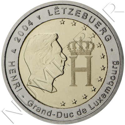 2€ LUXEMBURGO 2004 - Gran duque Enrique