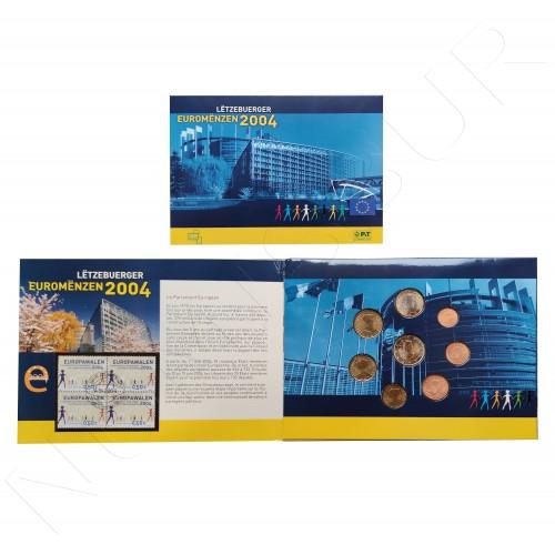 Euroset LUXEMBURG 2004 + Stamps