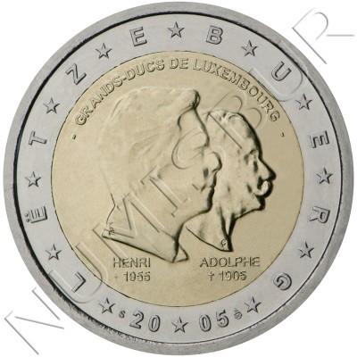 2€ LUXEMBURGO 2005 - Enrique y Adolfo