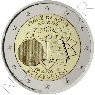 2€ LUXEMBURGO 2007 - Tratado de Roma