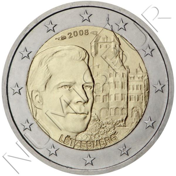 2€ LUXEMBURGO 2008 - Duque & Château de Berg