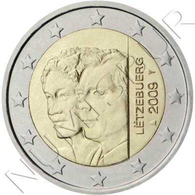 2€ LUXEMBURGO 2009 - Duques