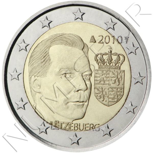 2€ LUXEMBURGO 2010 - Escudo de Armas del Gran Duque