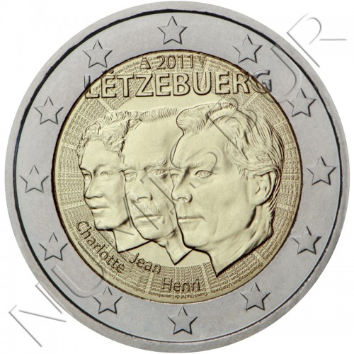2€ LUXEMBURG 2011 - Appointment