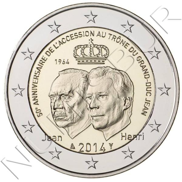 2€ LUXEMBURGO 2014 - Ascensión al Trono