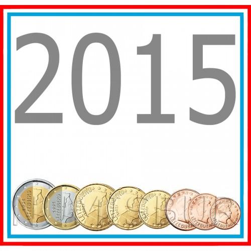 Tira LUXEMBURG 2015 - 8 coins