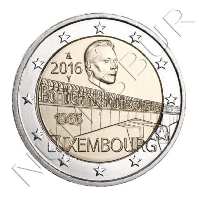 2€ LUXEMBURGO 2016 - Puente duquesa Charlotte