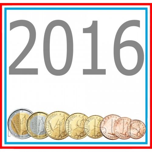 Tira LUXEMBURG 2016 - 8 coins