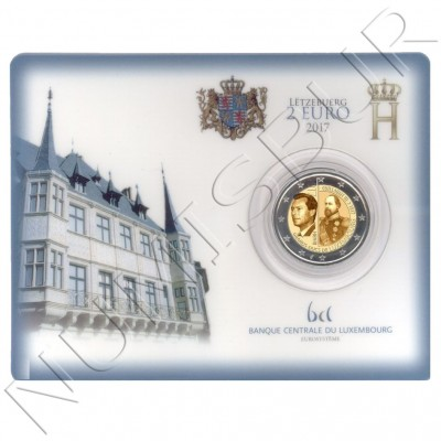 2€ LUXEMBURG 2017 - 200 aniv. birth Grand Duke William III BU