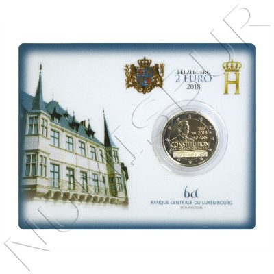 2€ LUXEMBURG 2018 - 150 years old constitution of the Grand Duchy BU
