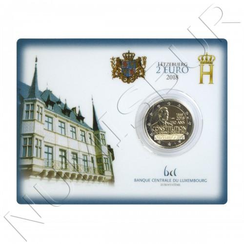 2€ LUXEMBURGO 2018 - 150 años del gran Duque de Luxemburgo BU
