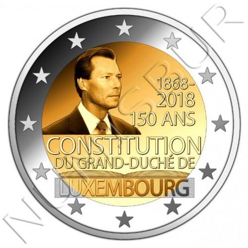2€ LUXEMBURGO 2018 - 150 años del gran Duque de Luxemburgo
