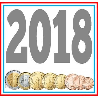 Tira LUXEMBURGO 2018 - 8 valores
