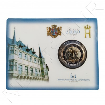 2€ LUXEMBURG 2019 - Centenary of the accession to the throne of the Grand Duchess Charlotte (BU)