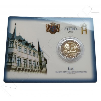 2€ LUXEMBURG 2019 - Universal suffrage (BU)