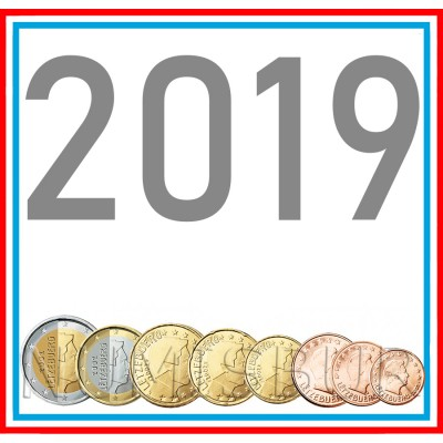 Tira LUXEMBURG 2019 - 8 coins