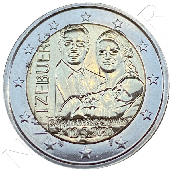 2€ LUXEMBURG 2020 - Birth of Crown Prince Charles (Normal)