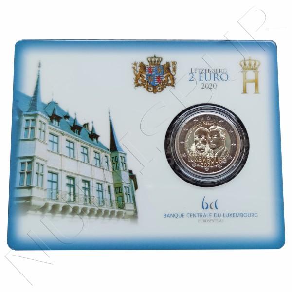 2€ LUXEMBURG 2020 - Bicentennial of the birth of Prince Henry (BU)